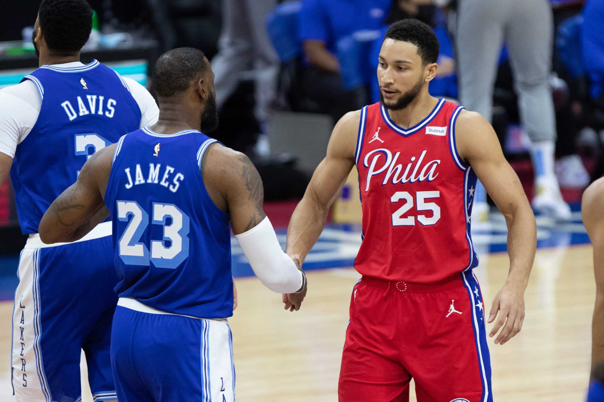 'Let's Get It'-76ers' Ben Simmons reagerar på att bli plockad av LeBron James 2021 NBA All-Star Game