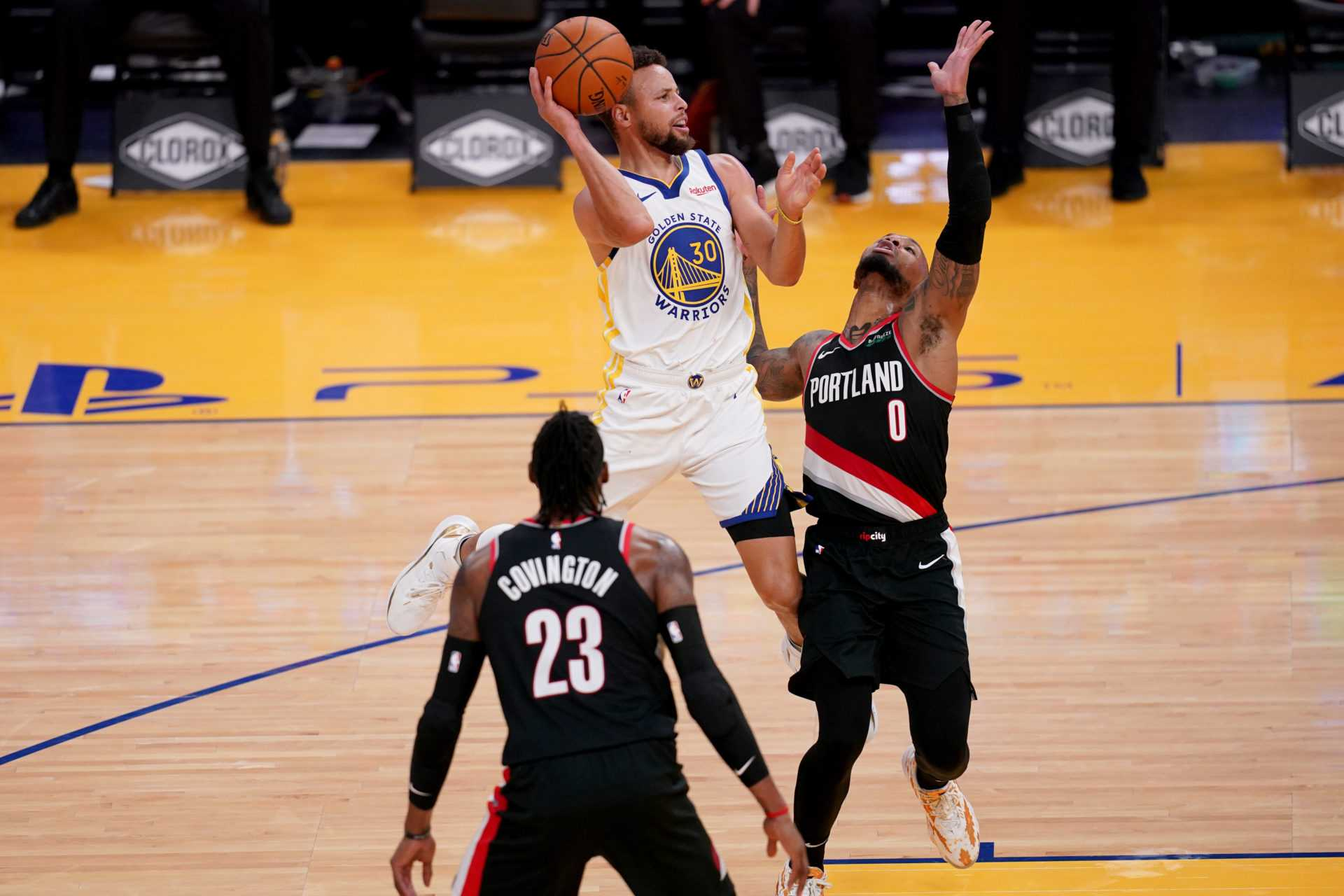 'Greatest Shooter to Ever Play': Blazers 'Damian Lillard ger krigare' Stephen Curry en enorm rop