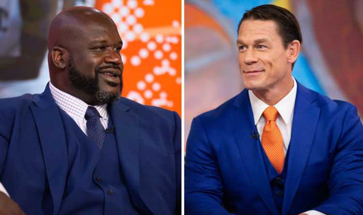 """""""You Could've Been Something in WWE"""" - John Cena på Shaquille O'Neals AEW-debut"""