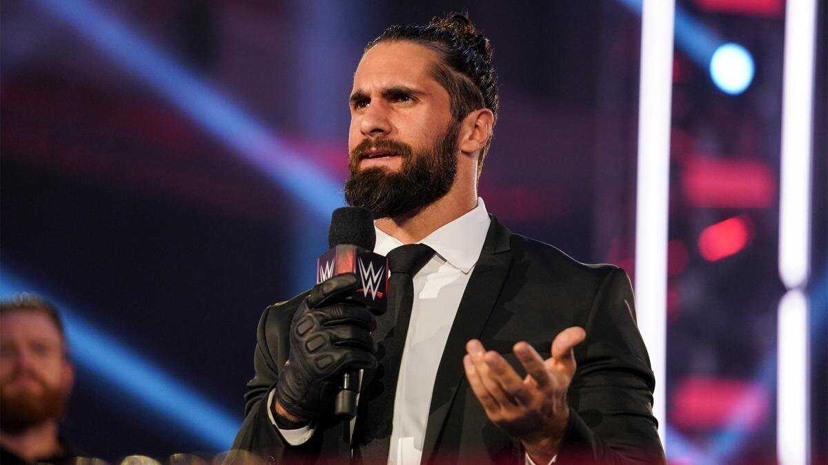 Olyckliga Botches under Seth Rollins och Bad Bunny Matches på WrestleMania 37